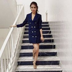 Spotted: Kathryn Bernardo does a Kim Kardashian look Kathryn Bernardo Outfits, Daniel Padilla, Office Attire, Bellisima, Kim Kardashian, Style Icons, Autumn Fashion, Fashion 2015, Celebrity Style