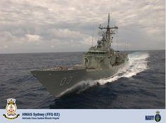 HMAS Sydney FFG 03