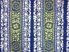 "Vintage Marimekko fabric ""Pidot"" design Maija Isola 1960"