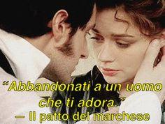 """#teaser  """"Abbandonati a un uomo che ti adora."""" © #IlPattoDelMarchese - Giovanna Roma #Regency"""