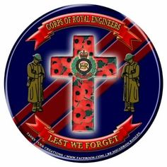 Remember The Fallen, Remember Day, Remembrance Day Poppy, Army Tattoos, Royal Engineers, Poppies Tattoo, Lest We Forget, British Army, Military Art