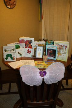 Table of Four: Butterfly Homeschool Theme Unit