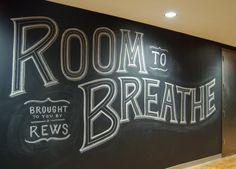 Beautiful Chalk Lettering Inspiration