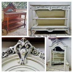 Restyling  Etagere Shabby Chic Vicky Interiors