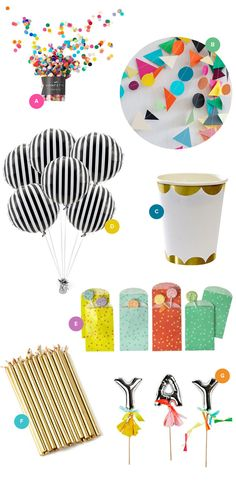 Pretty Party Supplies | Oh Happy Day!