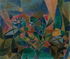 Flower Bed 1913 by Paul Klee