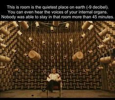 Quietest place on Earth...