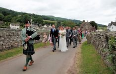 Leading the newly married Laura & Will from their Church Wedding to their Wedding Reception at Tretower Court and Castle :-) An idea for your Wedding Planning? :-) #SouthWales #Bagpipes #BagpiperinWales #Cardiff #Pontyclun #Llantrisant #RhonddaCynonTaf #ValeofGlamorgan #Chepstow #BurnsNightWales #Caerleon #Torfaen #Gwent #Bristol #Somerset #Caerphilly #Hereford #BNW21 #RossOnWye #Bridgend #Pontypool #Llanelli #Swansea #Carms #Brecon #Powys #Herefordshire #BNW #Pontypridd #Blackwood #Gloucs Church Wedding, Wedding Reception, John Campbell, Herefordshire, Newly Married, Swansea, Cardiff, South Wales, Somerset