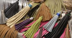 Leather tassels for all sorts of diy charms, pendants and more!