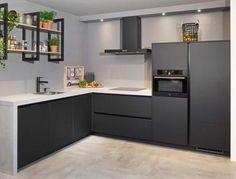 Kitchen Design, Stylish Kitchen, New Homes, Gorgeous Kitchens, House, Kitchen Interior, House Interior, House Layout Plans, Kitchen Cabinets
