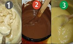 Learn to make the 3 most delicious cream fillings for pastries and cakes! Don't buy ready-made cream anymore! Hungarian Cuisine, Hungarian Recipes, Icing Frosting, Torte Cake, Cake Fillings, Food Humor, Baked Goods, Nutella, Bakery
