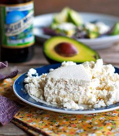 Queso Fresco!!! My favorite authentic Mexican cheese :)