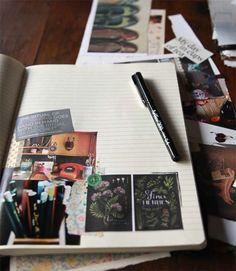 wordsandglitter:    Journalling for the Soul