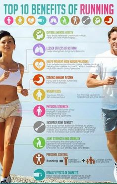 Amazing ~ 10 Benefits Of #Running