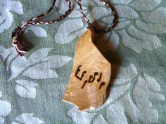 Music Necklace Notes Maple Music Teacher by TheWoodArtStudio, $15.00