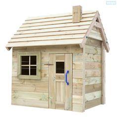 Maisonnette pour enfants- La villa. Cette drole de petite maison de Wickey n'est plus un rêve mais une réalité. Achetez vite, grand choix chez Wickey.