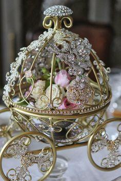 """ Disney Weddings Inspired Center Pieces via Etsy """
