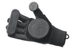 Triple 8 Skateboard Slide Gloves Longboard Black Size XS