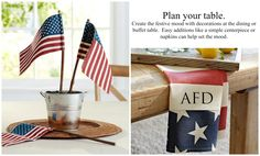 """Add a spirited touch of Americana to summer festivities with patriotic colors and cheery stars draped along the sides of a door or window. 12"""" wide x 70"""" high Flag is made of linen and cotton. Rope is 100% Jute. Recommended for use under a covered porch to protect from weather. This substantial wooden flag is made entirely of recycled pine and then painted for a rustic finish. Detailed with a distressed painted finish and sealed with lacquer for moisture resistance.  Add a spirited touch to…"""