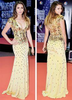 5/27/14 - Nina Dobrev at the 2014 World Music Awards in Monte Carlo.