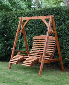 Charmant Comfort Swing Seat Beech