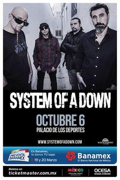 System of a Down Palacio de los Deportes 6 de Octubre