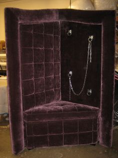 Inquire at DiscreetDesigns.com Playroom Furniture, Diy Furniture Projects, Dungeon Room, Goth Home, Playroom Design, Red Rooms, Gothic, Satanic Art, Motorcycle Types