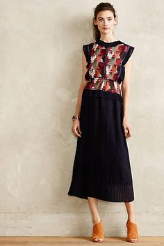 Albion Pleated Dress