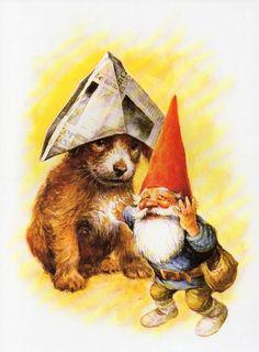 Rien Poortvliet (1932-1995) — Gnome Elf David (648x880)