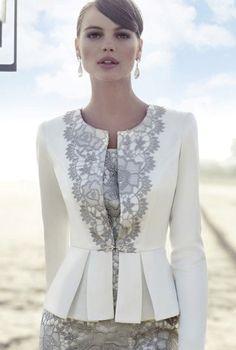 photo of ladies formal daywear design 03 detail by Carla Ruiz
