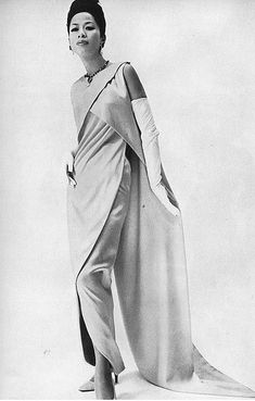 1965 - Balenciaga dress