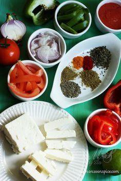 Paneer-jalfrezi Paneer Recipes, Indian Food Recipes, Vegetarian Recipes, Cooking Recipes, Vegetarian Diets, Vegetable Recipes, Alive And Cooking, Joy Of Cooking, Veg Curry