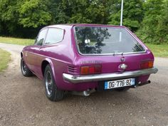 Rear side of the Scimitar ... Purple is the name ;)