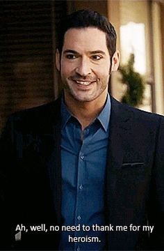 Gorgeous Tom Ellis as Lucifer