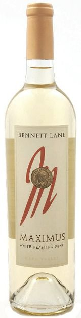 Bennett Lane's Maximus White Feasting Wine. With 90% Chardonnay and 10% Sauv Blanc, this summer sipper is refreshing but weighty enough to stand up to your heartiest grilled fare. White peach, papaya and orange blossom characterize the nose, leading to layers of fruit on the palate and a crisp, delicious finish.  It's just $28 from Bennett Lane, located in Napa's beautiful Calistoga. We salute Maximus as the perfect 4th of July pick!