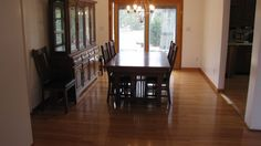 Buffing hardwood floors can breathe life into a dull-looking home, and it's also an affordable alternative to refinishing your wood flooring completely. Cork Flooring, Parquet Flooring, Hardwood Floors, Floor Finishes, Flooring Options, Baseboards, Wood Planks, Interior Design, Polish