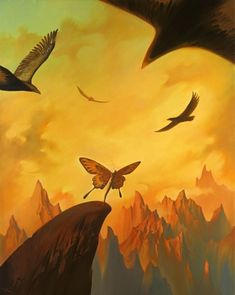 Vladimir Kush. Surrealist Artist. Painting. Modern Contemporary Art. Surrealism.