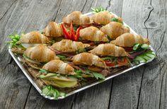 Fresh Rolls, Catering, Ethnic Recipes, Food, Food Food, Essen, Yemek, Meals