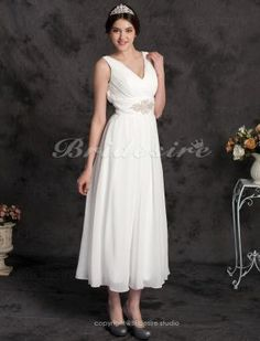 Economical wedding dress