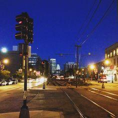 Pretty city / Night light. #itselectric #nightsight by libberon