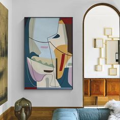Picasso Famous Abstract Painting Line Art Canvas Poster Print Minimalist Wall Art Pictures for Living Room Nordic Home Decor Canvas Poster, Canvas Wall Art, Wall Art Prints, Poster Prints, Canvas Prints, Living Room Pictures, Wall Art Pictures, Canvas Pictures, Picasso