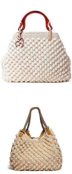 Crochet bag Ermanno Scervino - bolsa de crochê