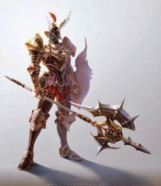 Armor of Mar yuchenghong Fantasy Male, Fantasy Armor, High Fantasy, Fantasy Character Design, Character Concept, Character Art, Armor Concept, Concept Art, Larp