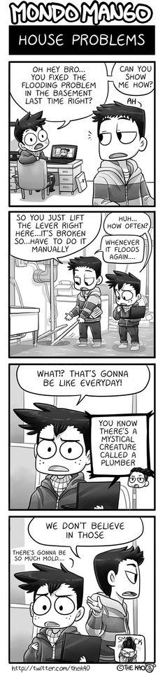 Mondo Mango :: House Problems | Tapas Comics - image 1