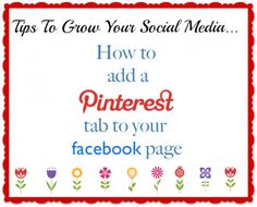 How To Add Pinterest To Facebook