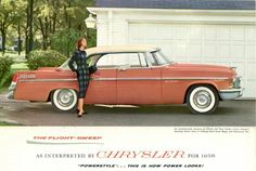 Introducing The 1956 Chrysler Corp Flight Sweep Cars: Plymouth, Dodge, De Soto…
