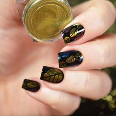 """Время вдохновения   Очаровываться красотой золотой осени можно в любое время года, правда? Благодарим за прекрасную работу блогера @tanya_wish, это просто волшебно!   Маникюр выполнен с помощью:  ●Primanails трафарет для ногтей """"Листья"""": https://odiva.ru/~AGd8h  ●Tnl втирка """"Майский жук"""" №04: https://odiva.ru/~y18WM  ●Tnl втирка """"Майский жук"""" №05: https://odiva.ru/~YtJwM ●Tnl втирка """"Майский жук"""" №06: https://odiva.ru/~9fhL8  #времявдохновения@odivaru"""