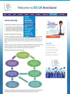 Website design for IESUK
