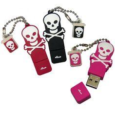 skull USB's