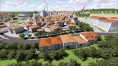 Mimari Animasyon - Bolu'da tarihi mekanda kentsel dönüşüm projesi